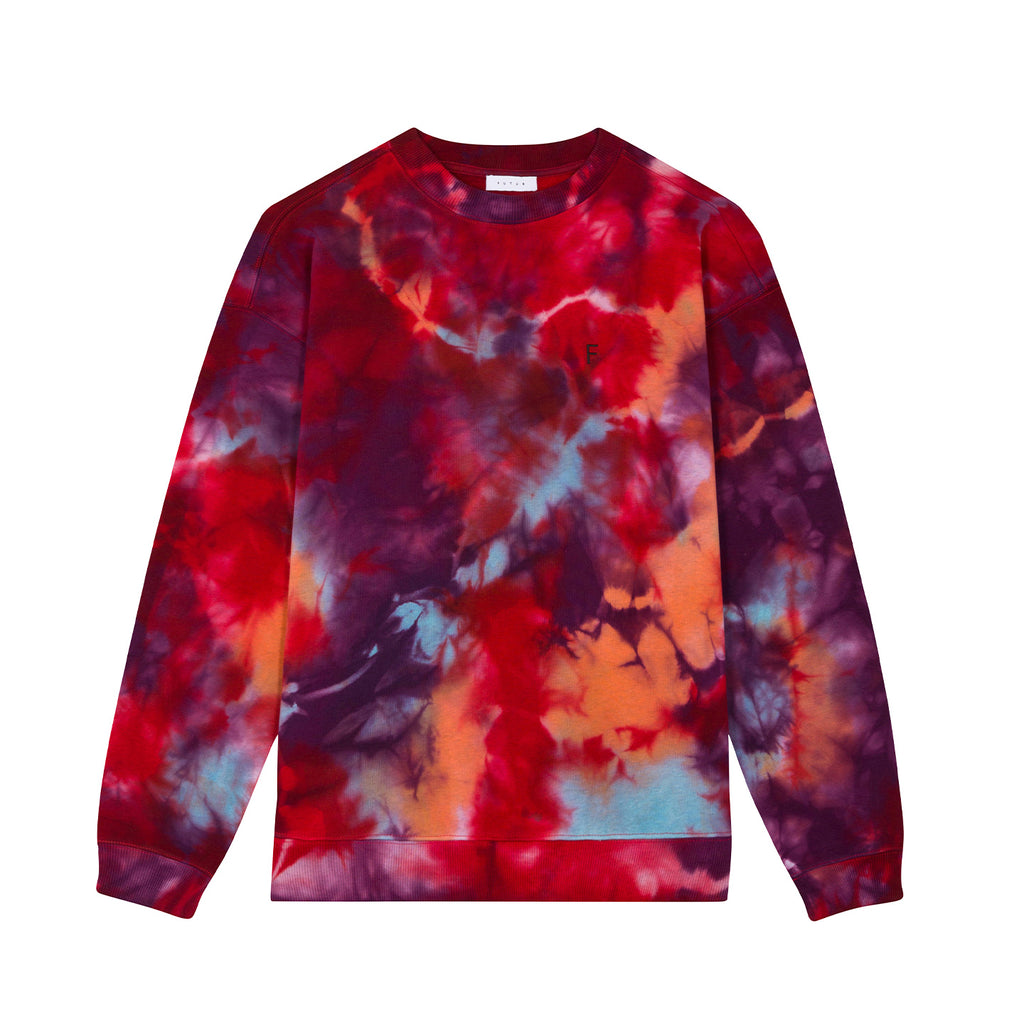 01 Outline G Fit Crew / Tie Dye