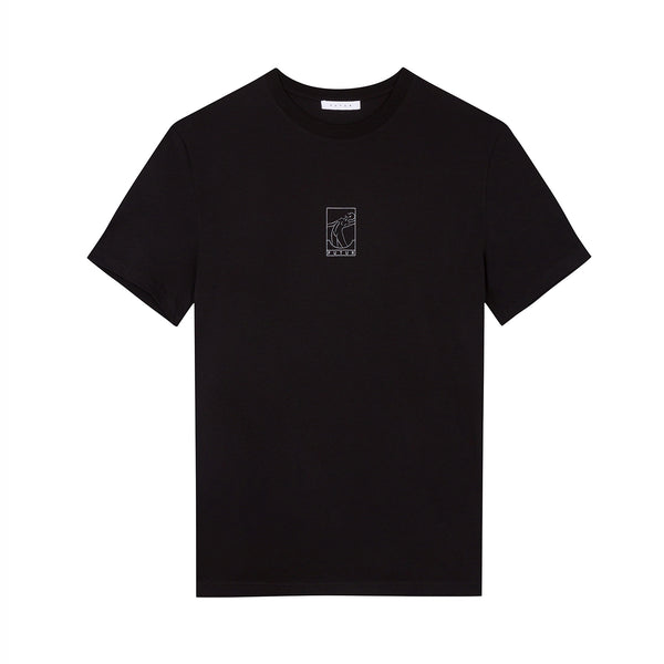01 Outline Tee / Black