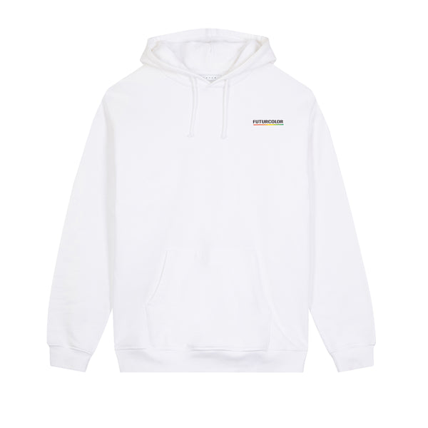 Color Core Hoodie / White