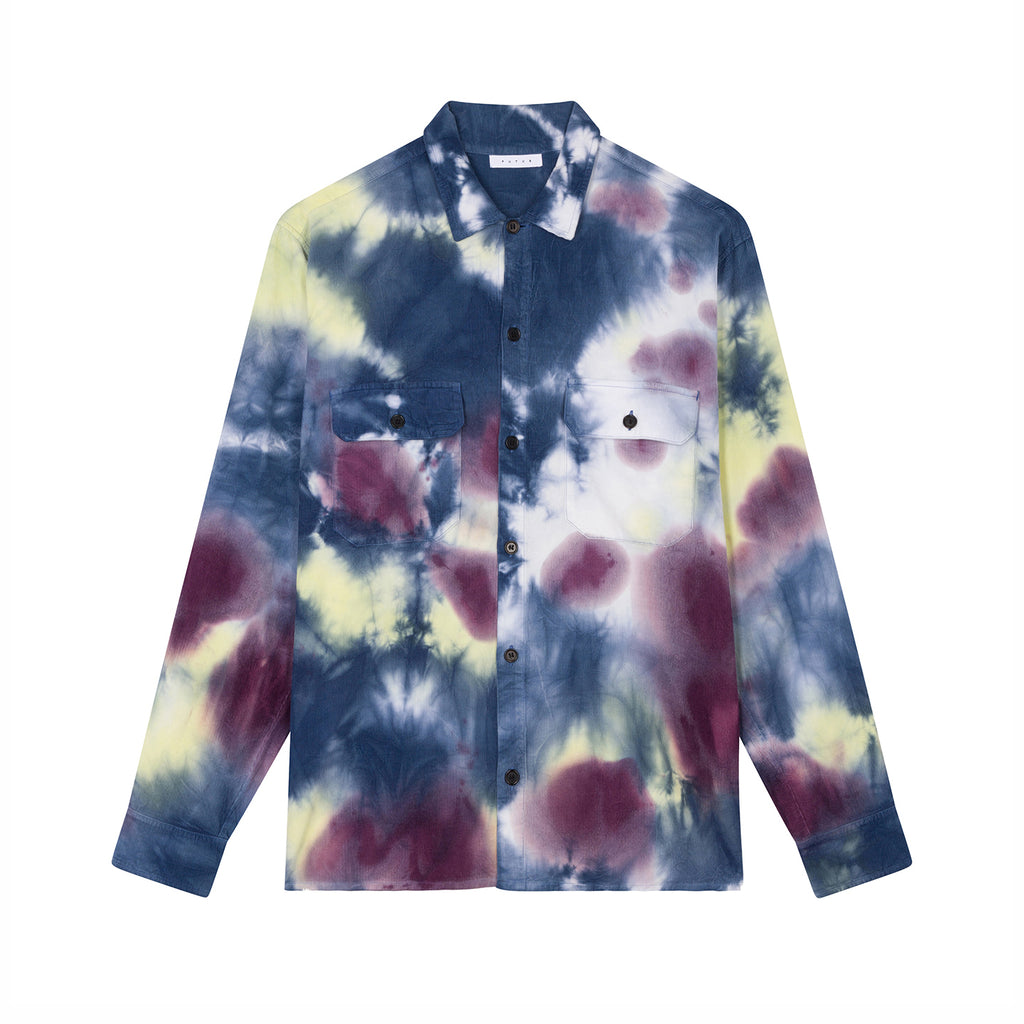 Cor Overshirt / Tie Dye Light