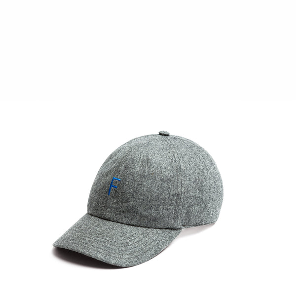 F super 100's Cap / Heather Grey