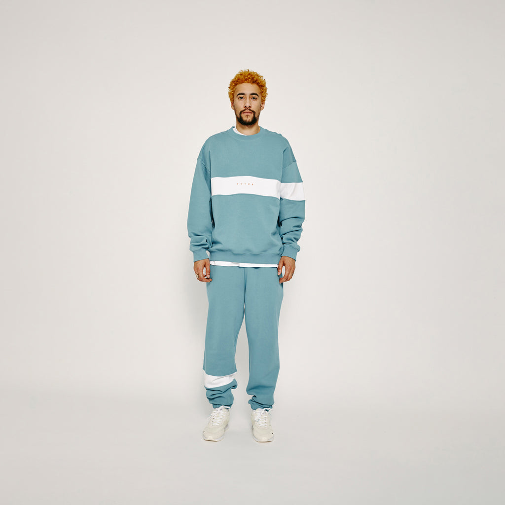 Flag G Fit Crew / Turquoise