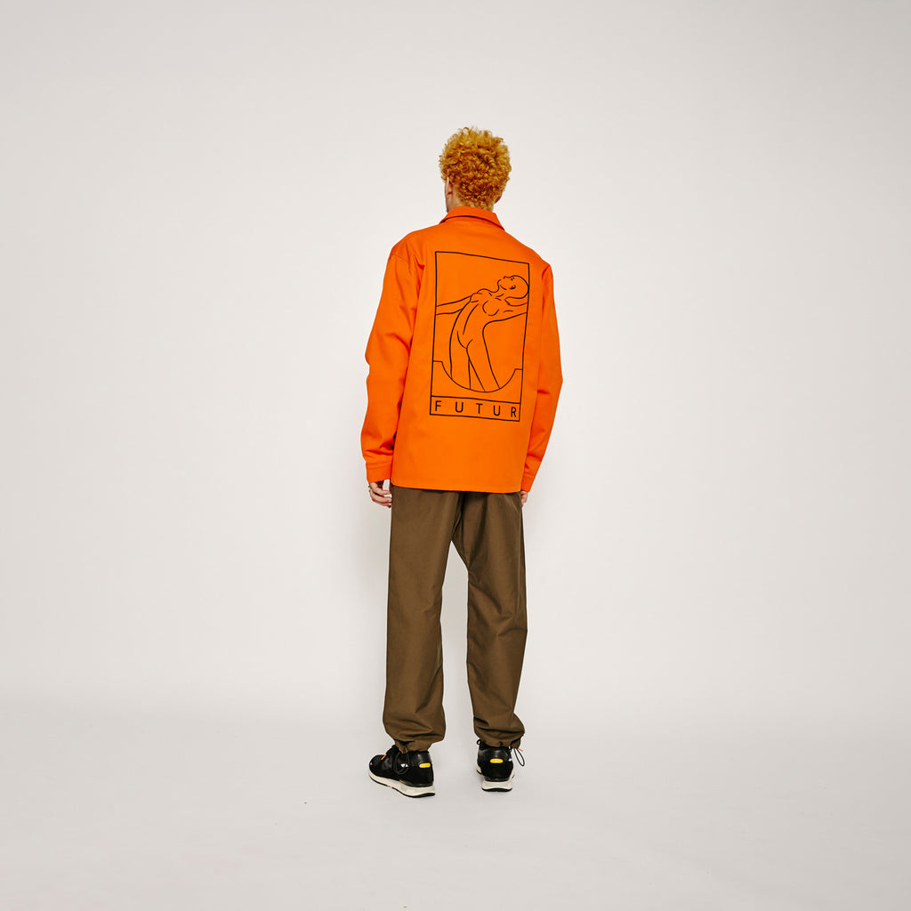 Werk jacket / Orange