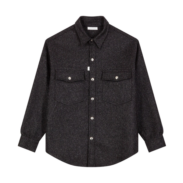 Moon Overshirt / Charcoal