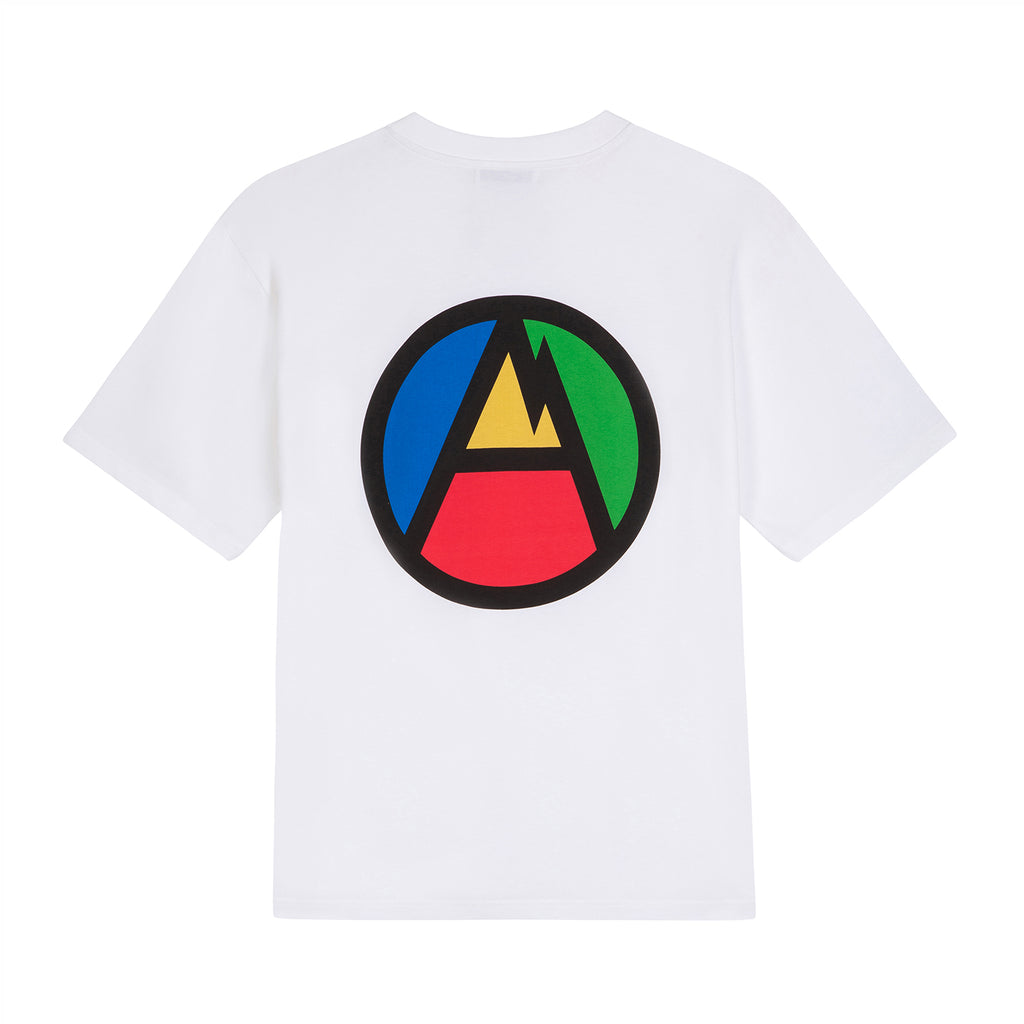 MW G Fit A Mountain Tee / White