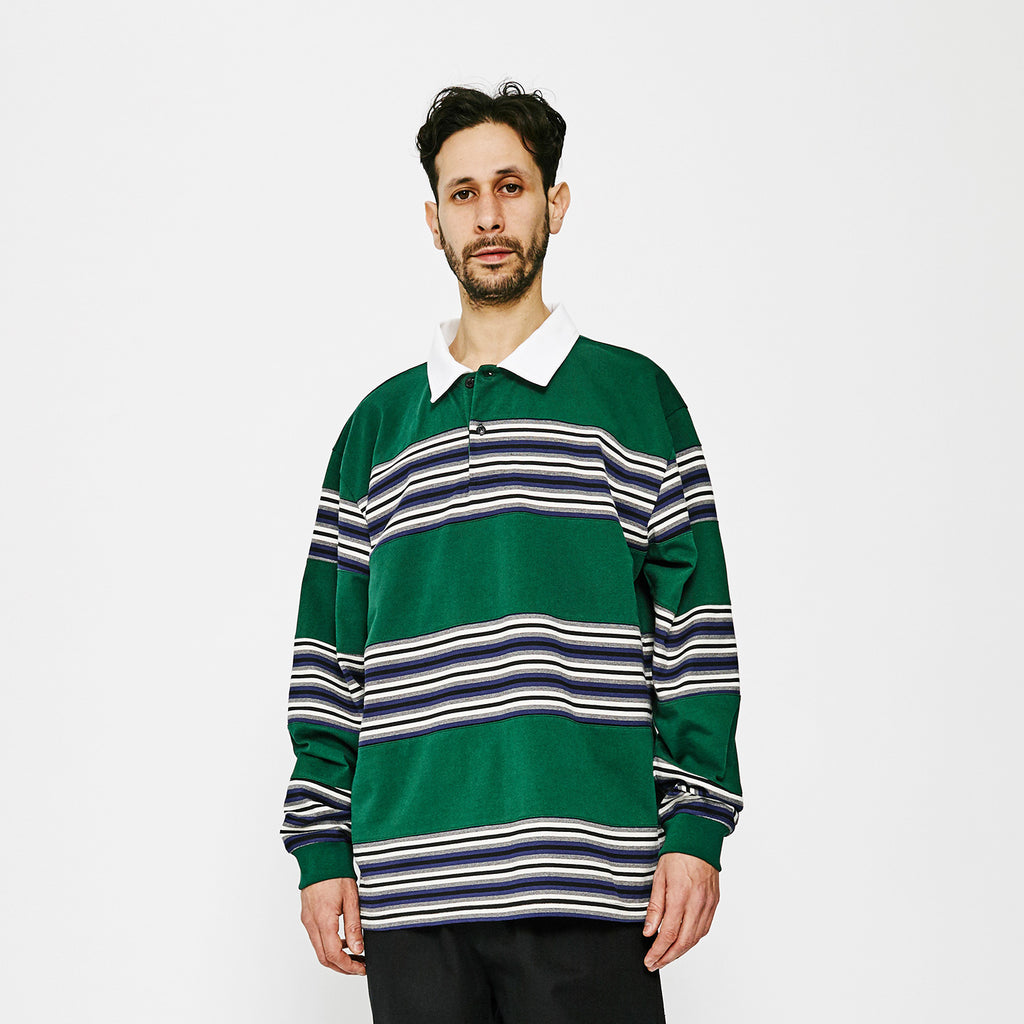 MW Flush G Fit Polo / Forest Green