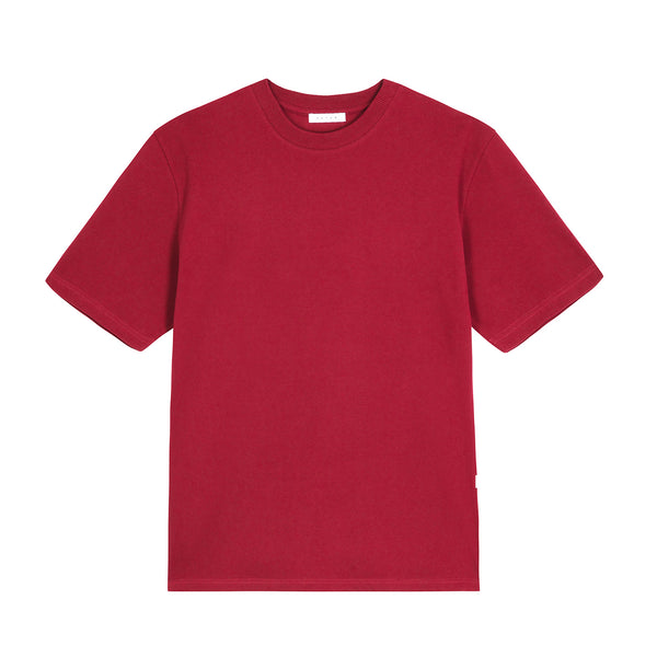 MW G Fit Pique Tee / Maroon