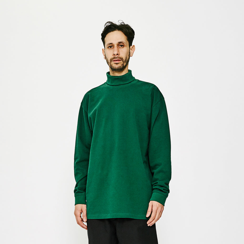 MW G Fit Pique Tube LS / Forest Green