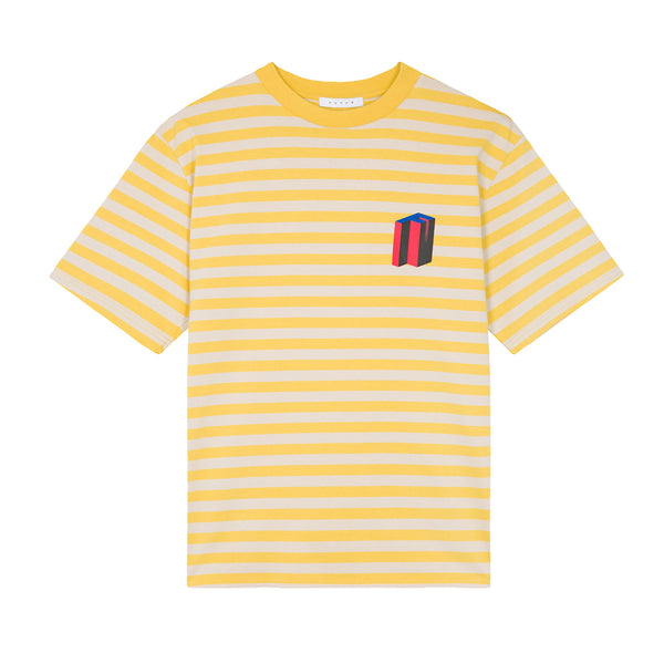 MW G Fit 3d Striped Tee / Yellow
