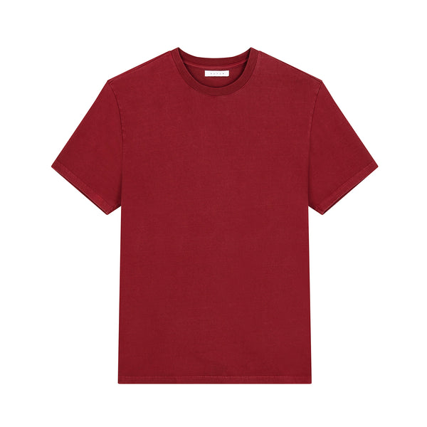 Outline 01 Core Tee / Dark Red