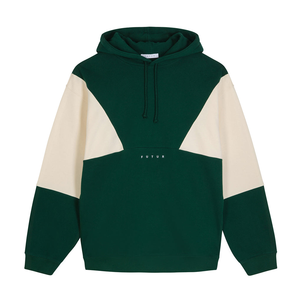 Tri Hoodie / Forest Green
