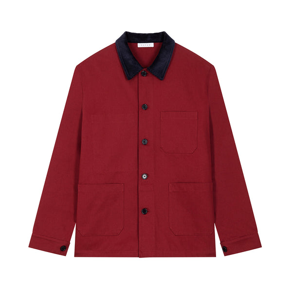 Werk Jacket / Dark Red
