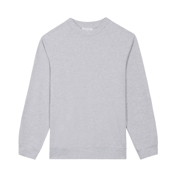MW Pique Crew / Heather Grey