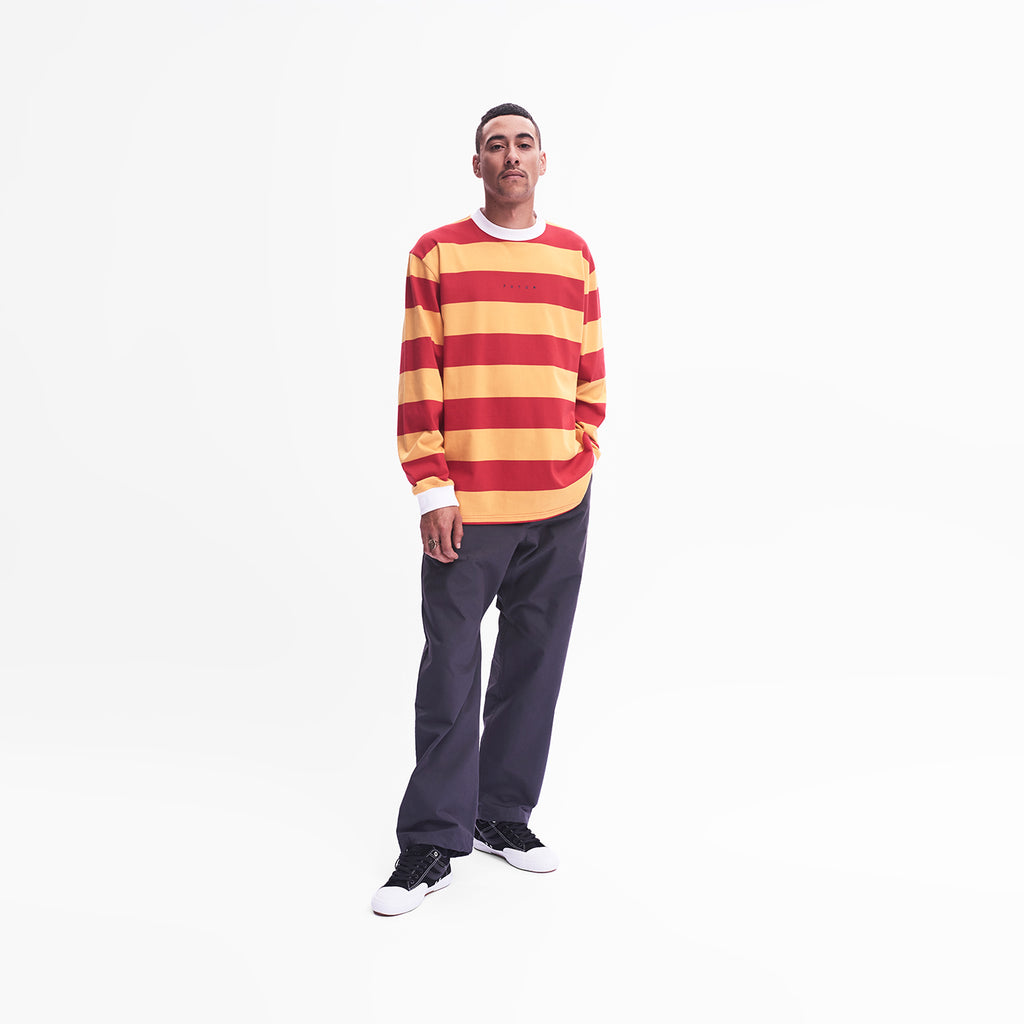 MW Striped LS Tee