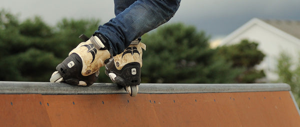 How are promotional inline skates made?