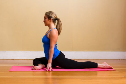 Yoga for Surfers: Pigeon pose