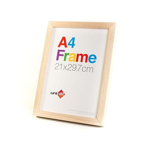 A4 Wooden Frame Natural