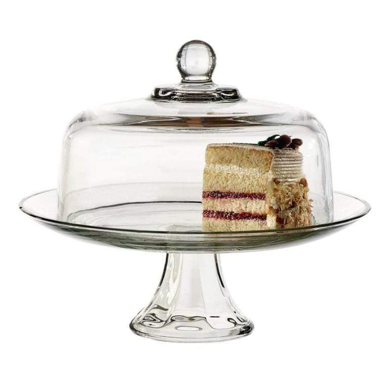 Anchor Hocking 28.5cm Presence Cake Stand & Dome