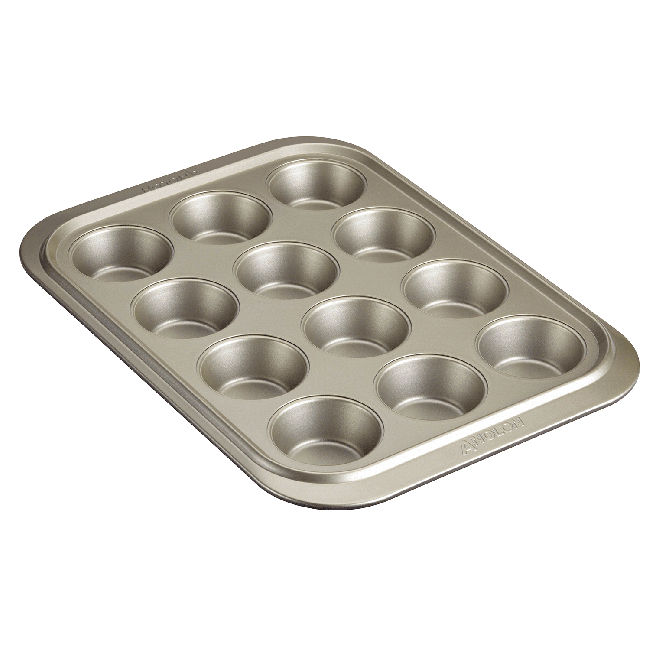 Anolon Ceramic Reinforced 12 Cup Muffin Pan