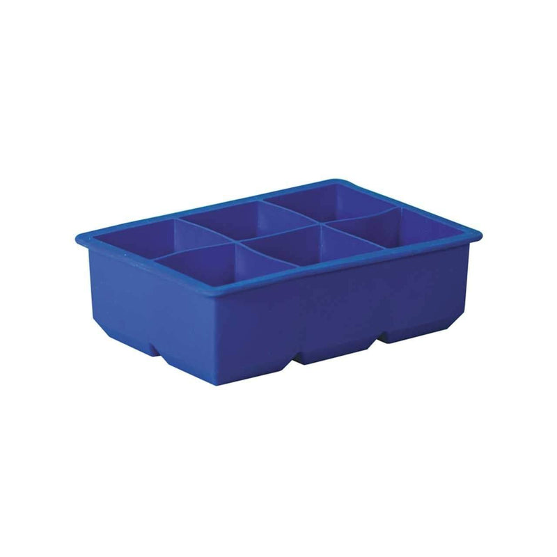 Avanti Silicone 6 Cup King Ice Cube Tray Blue