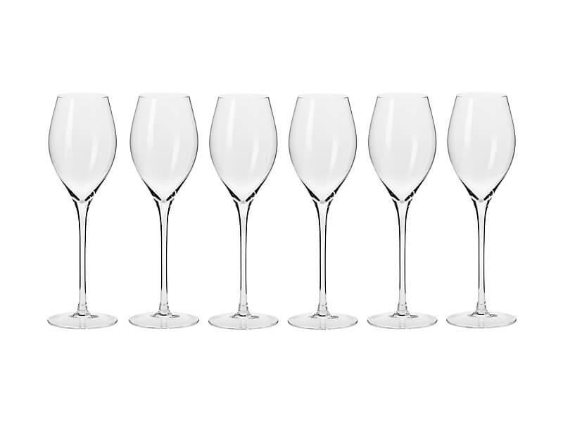 Krosno Harmony Prosecco Glass 280ml Set of 6