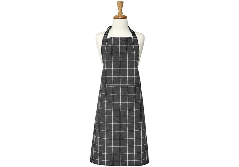 Ladelle Eco Check Charcoal Apron