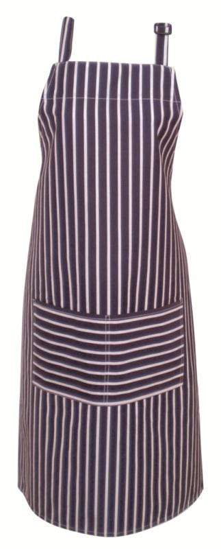 Ladelle Navy Stripe Fabric Apron
