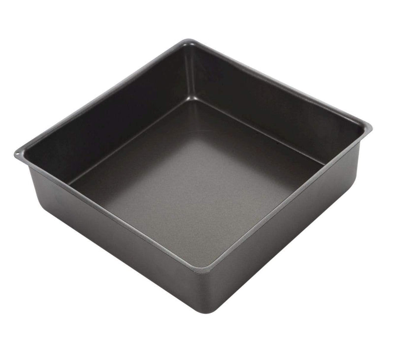 Masterpro Loose Base Square Deep Cake Pan 25x25x8cm