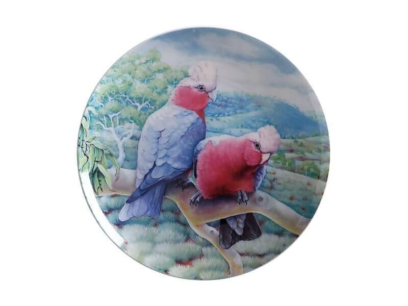 Maxwell Williams Birds of Australia KC 10yr Anniversary Plate 20cm Galah