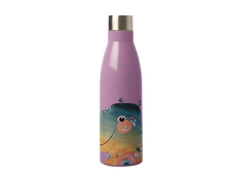 Maxwell Williams Pete Cromer Wildlife Double Wall Insulated Bottle 500ml Hippo