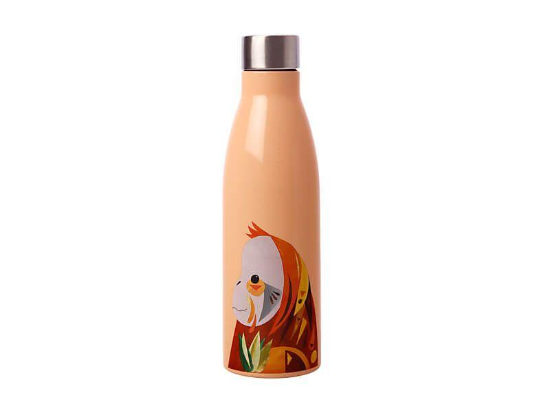 Maxwell Williams Pete Cromer Wildlife Double Wall Insulated Bottle 500ml Orangutan