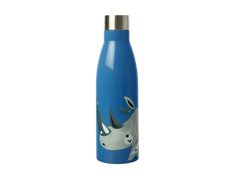 Maxwell Williams Pete Cromer Wildlife Double Wall Insulated Bottle 500ml Rhino