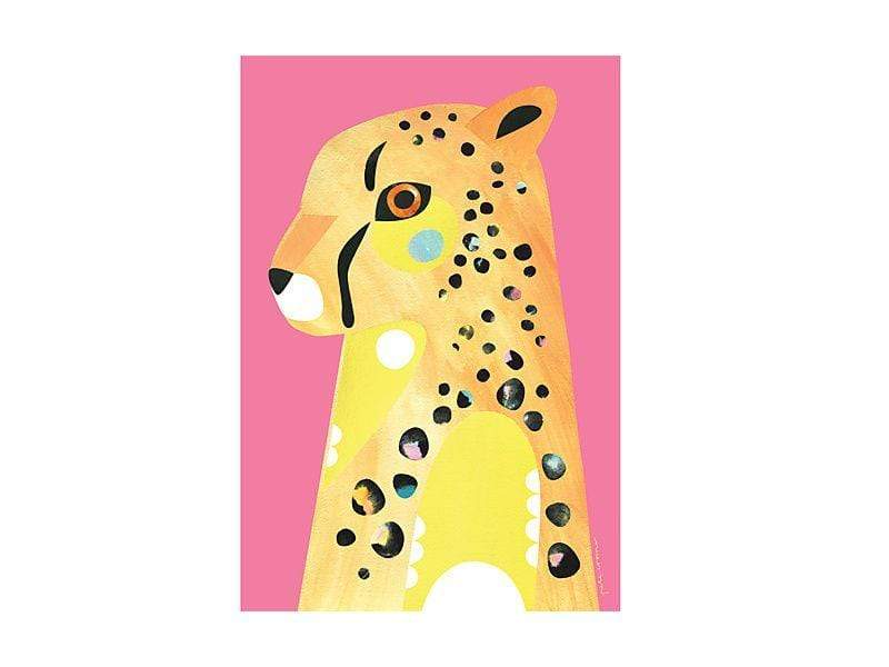 Maxwell Williams Pete Cromer Wildlife Tea Towel 50x70cm Cheetah