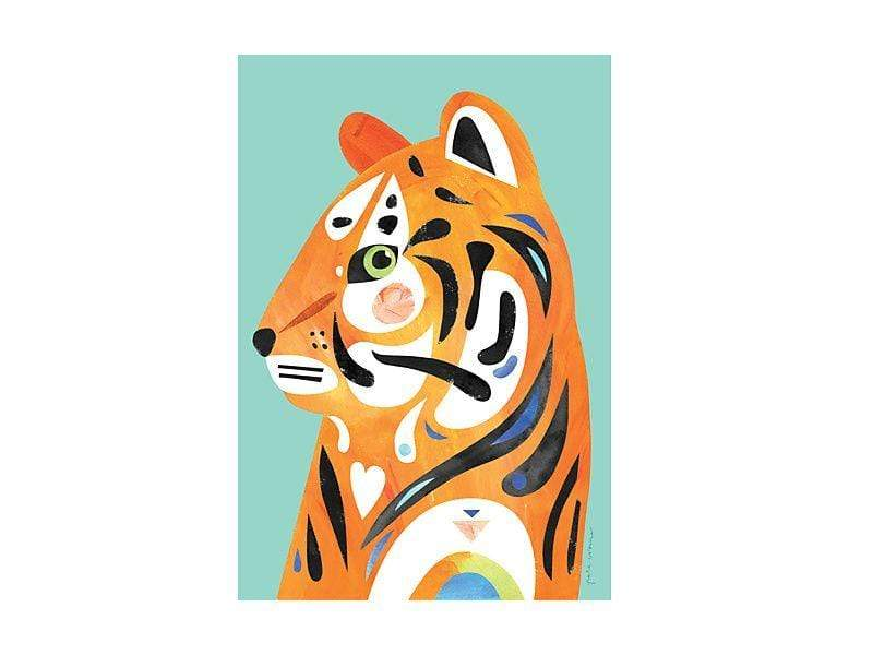Maxwell Williams Pete Cromer Wildlife Tea Towel 50x70cm Tiger