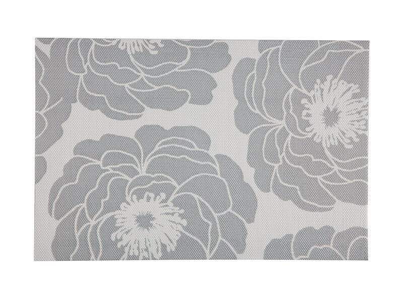 Maxwell Williams Placemat Camellia 45x30cm Silver