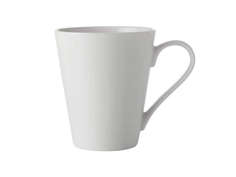 Maxwell WIlliams White Basics Conical Mug 300ml