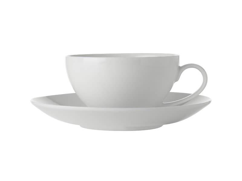 Maxwell Williams White Basics Coupe Cup & Saucer 250ml
