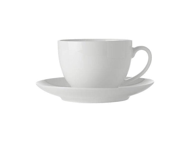 Maxwell Williams White Basics Cup & Saucer 280ml