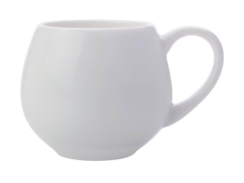 Maxwell Williams White Basics Mini Snug Mug 120ml White