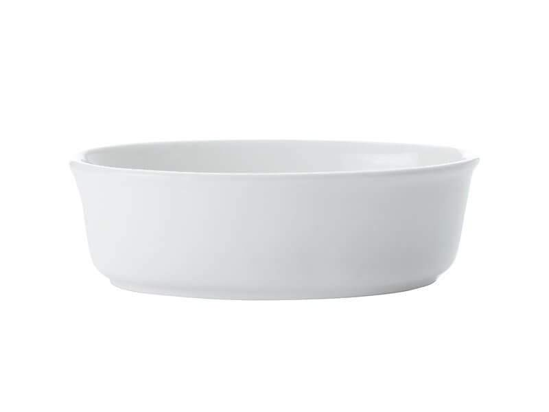 Maxwell Williams White Basics Pie Dish Oval 18cm