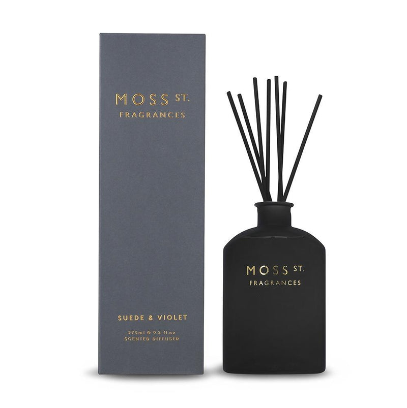 Moss St. Suede & Violet Diffuser