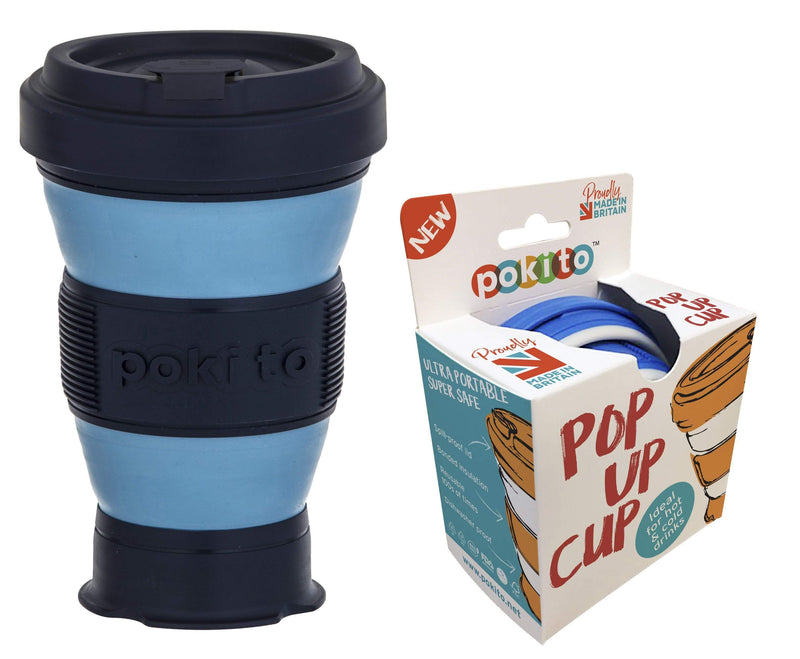 Pokito Pop Up Cup Blue