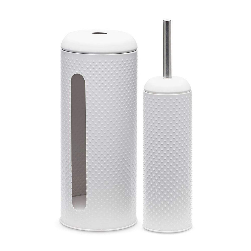 S&P Spot Toilet Brush & Roll Holder Set of 2