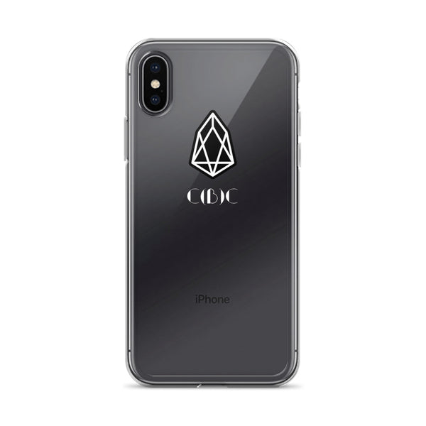 EOS #4 White Label iPhone Case