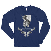 Issue of Currency - Theodore Roosevelt #7 - White - Long sleeve t-shirt (unisex)