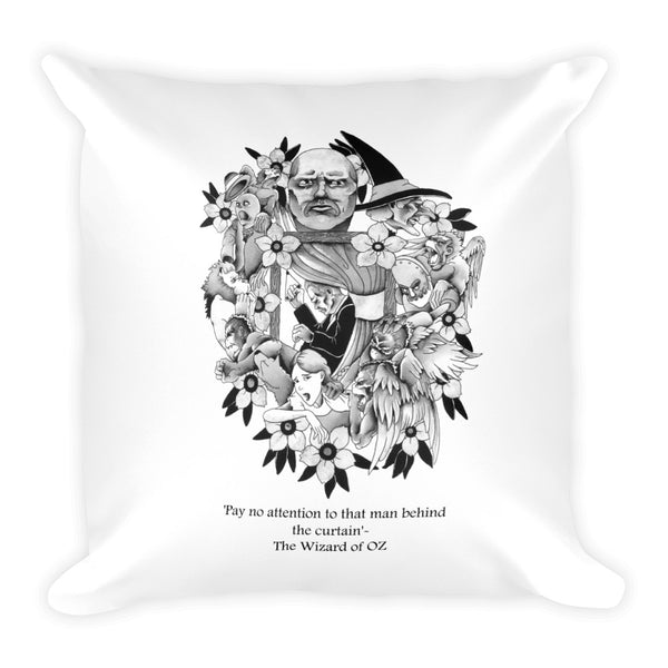 Banking Wizards #8 Square Pillow