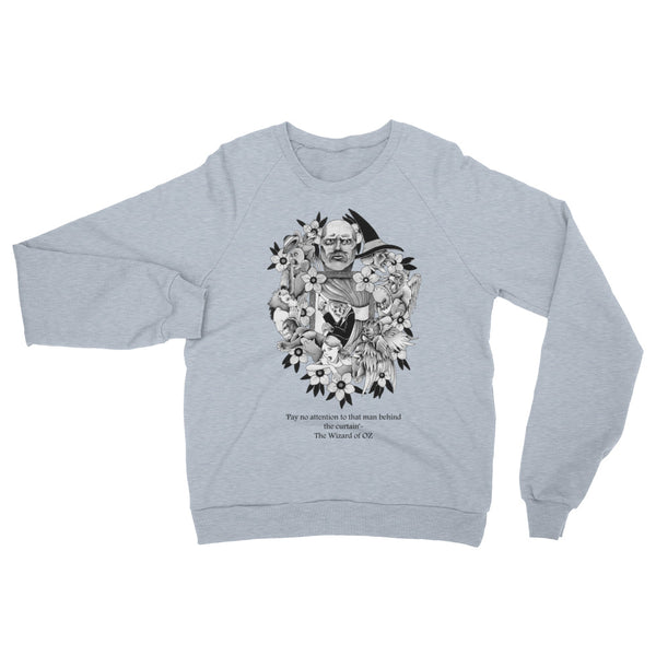 Banking Wizards #8 Black Label Unisex California Fleece Raglan Sweatshirt