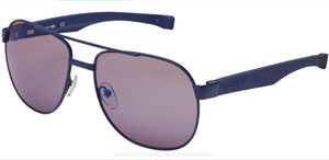Lacoste Mens Sunglasses Blue Matte - Raw Apparel uk - l - Lacoste Mens Clothing and apparel - New 2018 Fashion Trends and Styles,  Free Shipping, #uk, Mens clothing & apparel, T Shirts , Summer sale, #Streetfashion