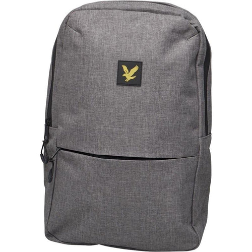 Lyle And Scott Vintage Mens Rucksack Grey Marl - Raw Apparel uk - l - Lyle & Scott Mens Clothing and apparel - New 2018 Fashion Trends and Styles,  Free Shipping, #uk, Mens clothing & apparel, T Shirts , Summer sale, #Streetfashion
