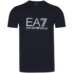 Emporio Armani EA7 - Classic large logo t-shirt by Emporio Armani - 100% Cotton - Raw Apparel uk - l - Emporio Armani EA7 Mens Clothing and apparel - New 2018 Fashion Trends and Styles,  Free Shipping, #uk, Mens clothing & apparel, T Shirts , Summer sale, #Streetfashion